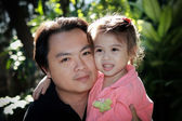 Father and daughter — Foto Stock