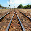 Railway crossroad — Stock Photo #28767681