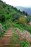 Pasarela en la montaña — Foto de Stock
