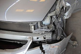 Crash car accident — Stock Photo
