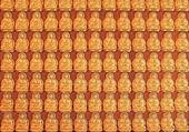 Dio cinese dorato in Thailandia — Foto Stock