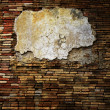 Old grunge brick wall  — 图库照片