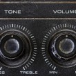Old Tone and Volume button vintage style — Stock Photo