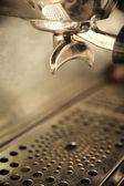 Espresso coffee machine — Stock Photo
