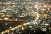 Chiang Mai city at nigh, Thailand — Stock Photo