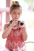 Close up portrait of cute girl — Stock Photo