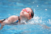 Children swimming pool — Stock Photo