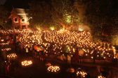 CHIANG MAI THAILAND-FEBRUARY 14 : Vesak Day.Traditional buddhist — Foto de Stock