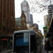 Stock Photo: Melbourne City Tram