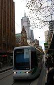 Melbourne City Tram — Stock Photo