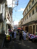 Busy Street in Mombasa 2 — 图库照片