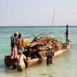 Loaded Boat — Foto Stock