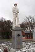 War Memorial at Clunes — Stock Photo