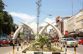 Shopping Kenyan Style — Stock Photo