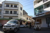 Mombasa street scény — Stock fotografie