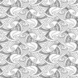 Vector editable and scalable seamless fish pattern — Vecteur #12212655
