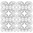 Vector de stock : Vector fish pattern
