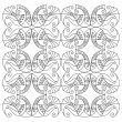 Vector fish pattern — Stok Vektör #12763904