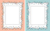 Baby photo frame — Stock Vector