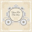 Vector de stock : Wedding invitation design