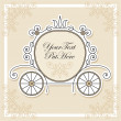 Stockvector : Wedding invitation design