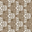 Vector de stock : Seamless baroque wallpaper