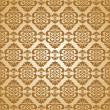 Seamless baroque wallpaper — Stock vektor