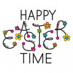 Easter headline — Stock Vector