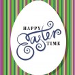 图库矢量图片: Easter greeting card