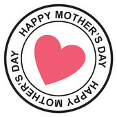 Mothers day postage stamp — Vector de stock