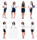 Business women collection — Stockfoto