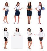 Collezione donna d'affari — Foto Stock