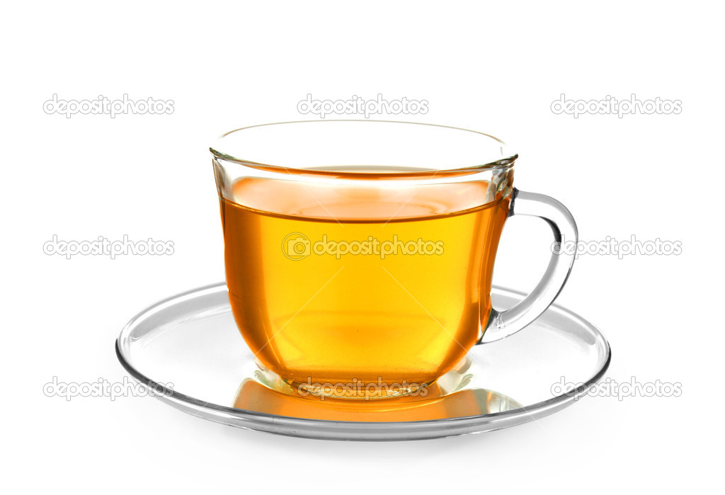 Tea in cup isolated on white background — Stock Photo #13927953