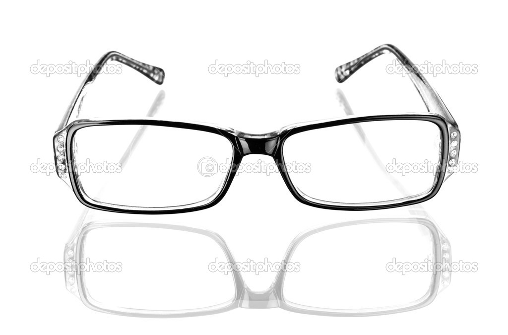 Glasses on a white background — Stock Photo #16186823