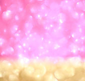 Abstract glitter bokeh lights. defocused lights background. summer concept. — Stok fotoğraf