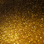 Gold spring or summer background. Elegant abstract background with bokeh defocused lights — Stock Photo