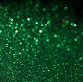 緑の背景。ボケ味とエレガントな抽象的な背景デフォーカス ライト — ストック写真