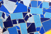 łamane płytki ceramiczne - ścienne dekoracyjne mozaiki — Zdjęcie stockowe