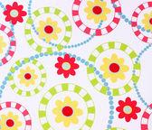 çiçek desenli tasarım ile dokulu kağıt — Stok fotoğraf