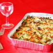 Baked casserole — Stock Photo