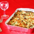 Stock Photo: Baked casserole