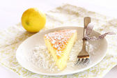 Delicious lemon cake — Stockfoto