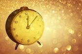 Vinatge clock — Stock Photo