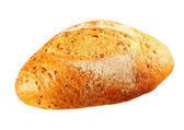 Fresh baguette on white background — Stock Photo
