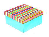 Colorfull box — Stock Photo