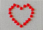 Heart shape symbol — Stock Photo