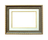 Picture frame with a decorative pattern — Stock Photo