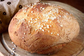 Traditional fresh bread — Photo