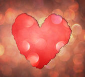 Heart from tor paper — Foto Stock