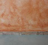 Getextureerde grunge muur en vloer patroon — Stockfoto